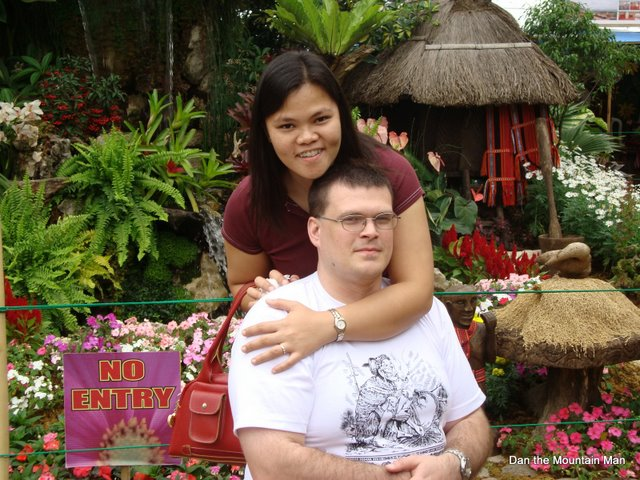 Jo Anne and me together in Baguio, Philippines
